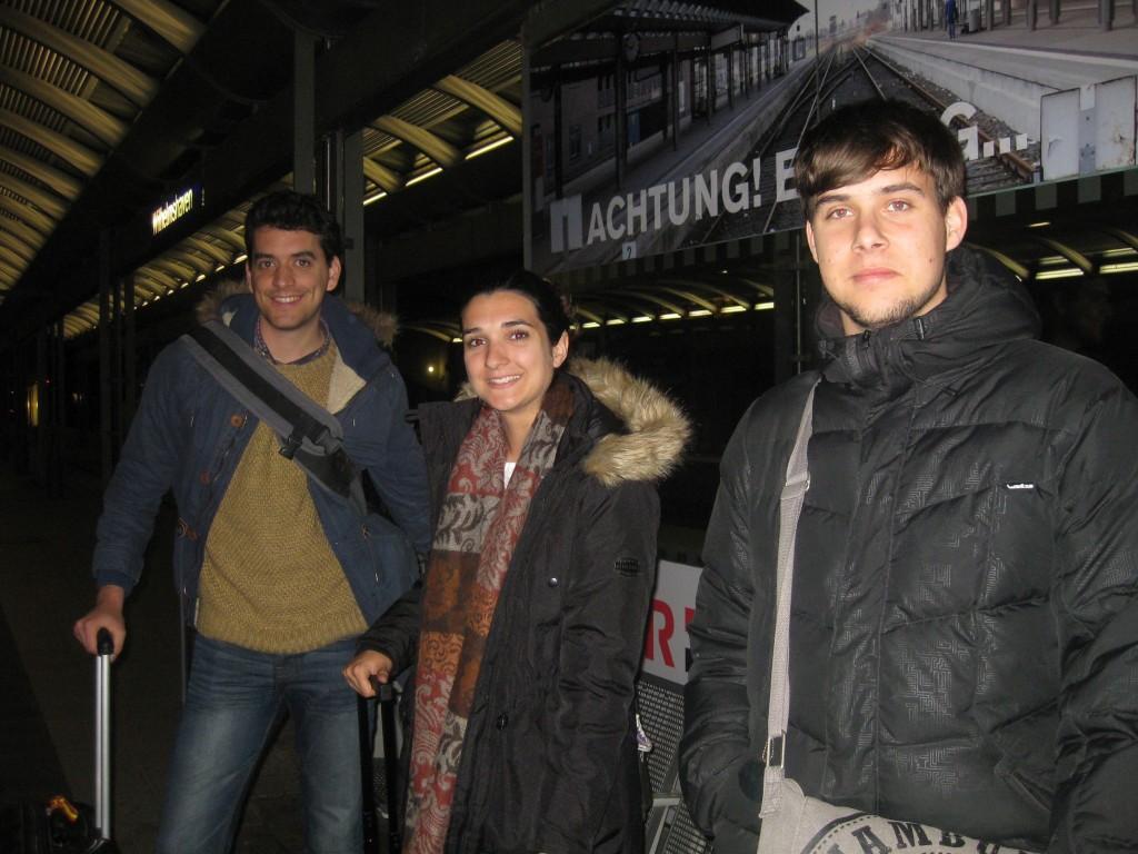 Foto Ankunft spanischer Gaststudenten in Wilhelmshaven