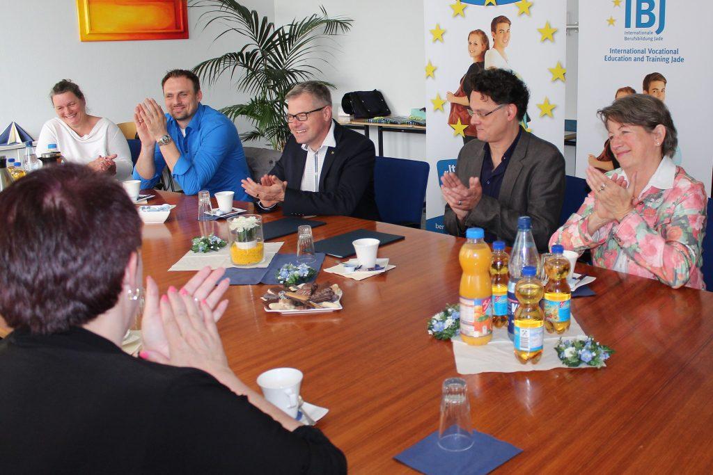 Astrid Isermann, Marc Hoffmann, Steffen Streitz , Detlef Reuter und Elke Schnitger.