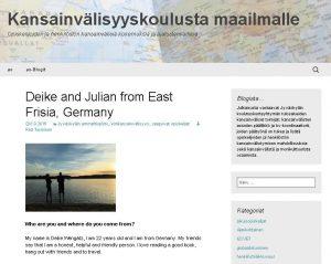 Blog von Deike und Julian